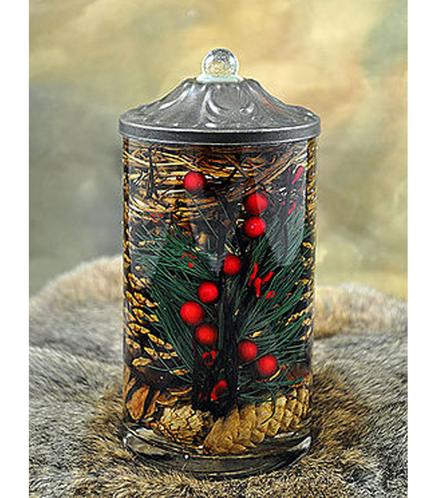 Pinecone quot cylinder oil candle turquoise butterfly