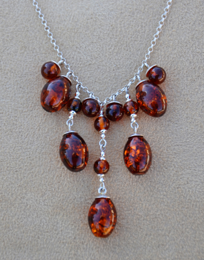 Amber Drop Necklace