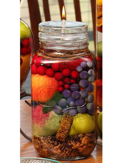 Fruit Bowl One Gallon Oil Candle