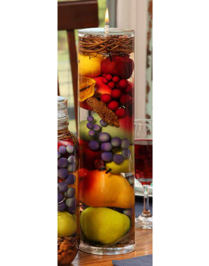 Fruit Bowl XL Cylinder Oil Candle