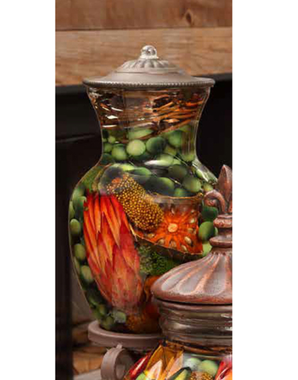 Harvest Ginger Vase Oil Candle