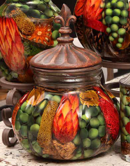 Harvest Centerpiece Oil Candle