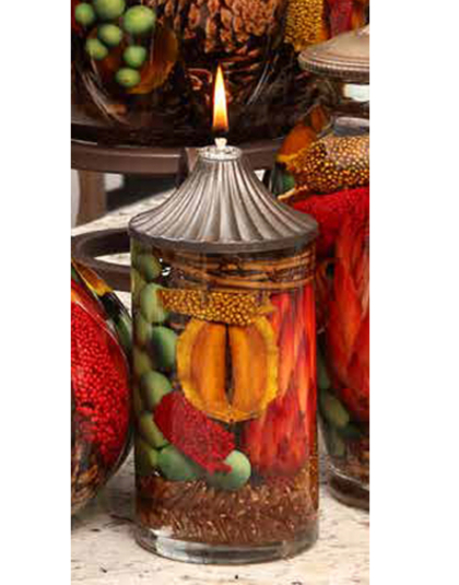 Harvest Small Cylinder Oil Candle