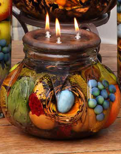 Robin's Nest Centerpiece Oil Candle